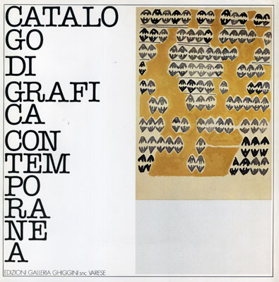 Catalogo di grafica contemporanea. 1986-1987, Archivio d'impresa.